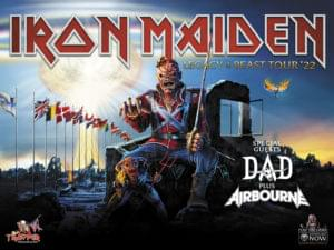 Iron Maiden. Legacy of the beast tour 2022.
