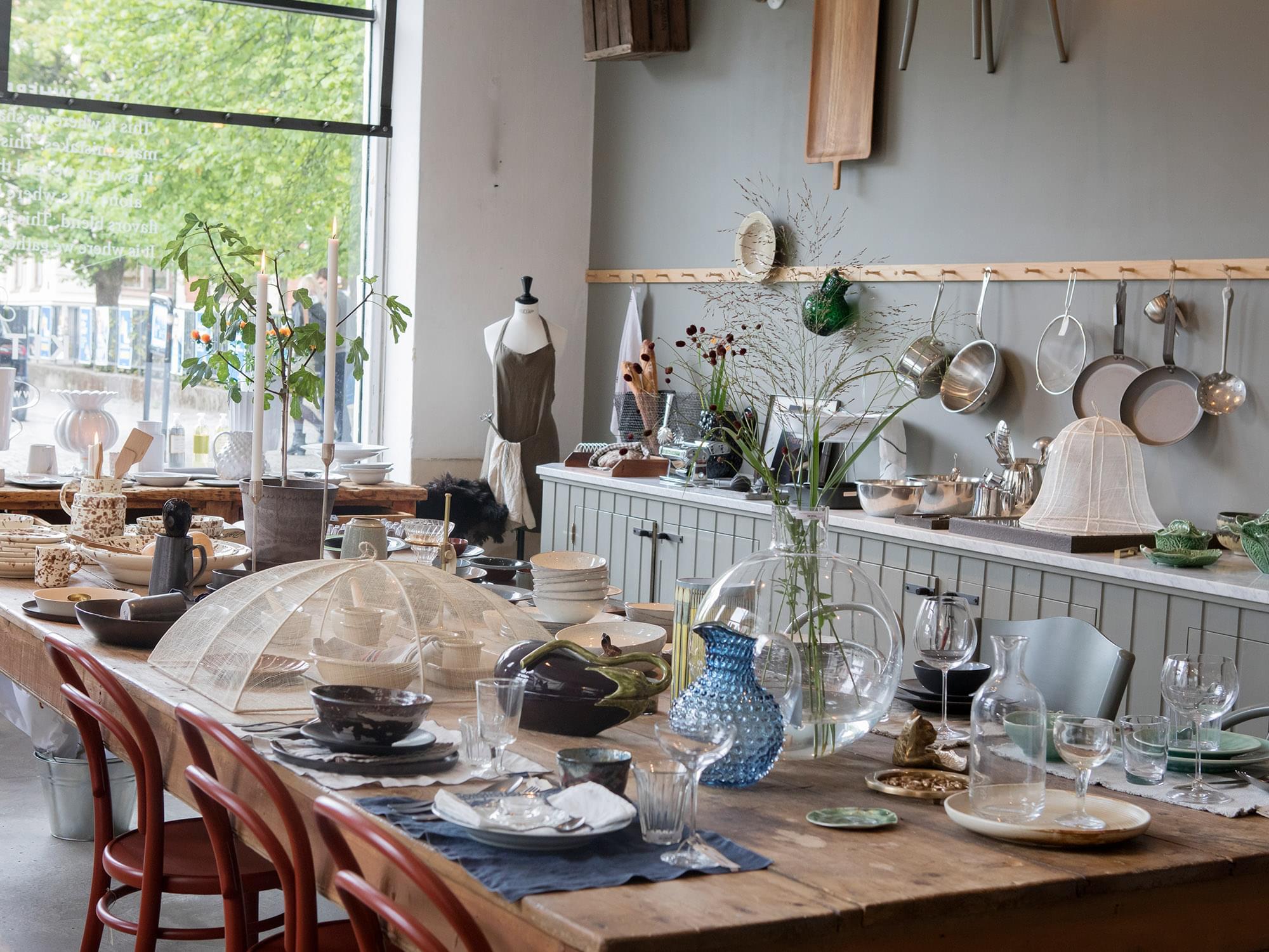 Artilleriet the Kitchen interior