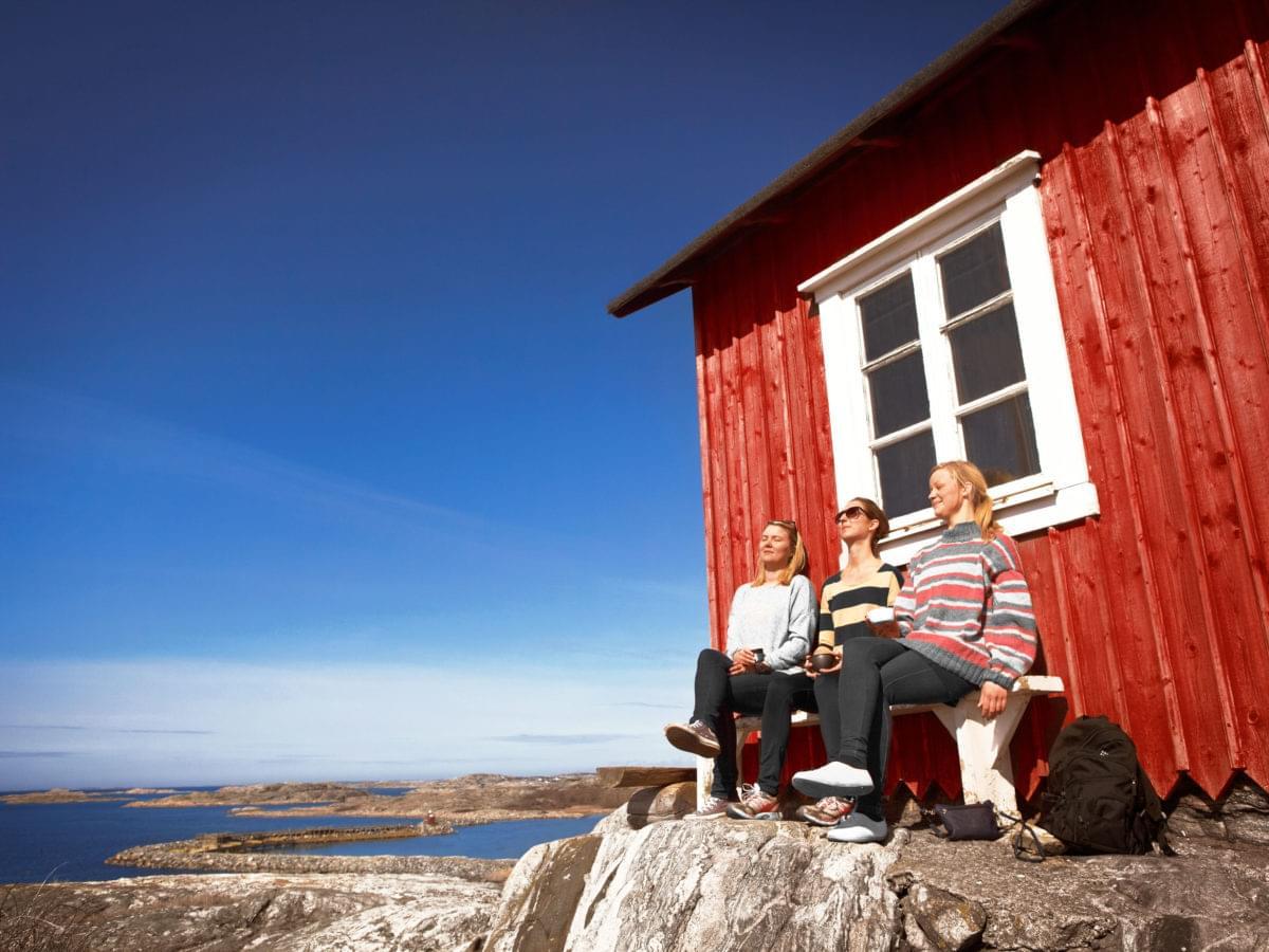 Sunbathing at Vrångö.