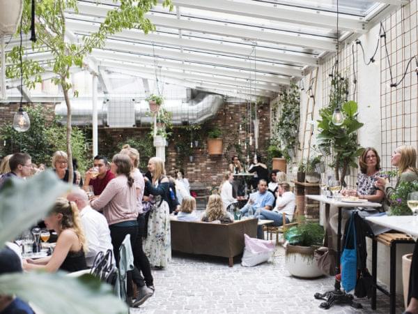 Orangeriet från Kafe Magasinet