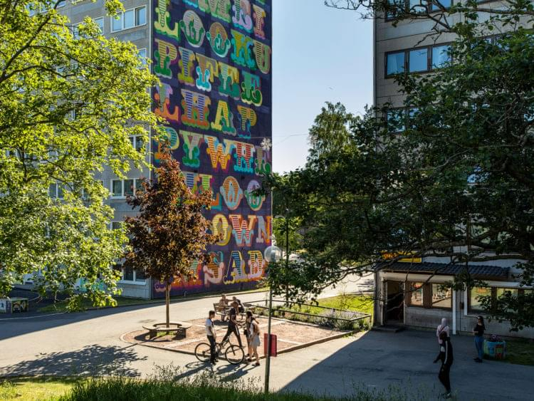 Hammarkullen och street art från artscape