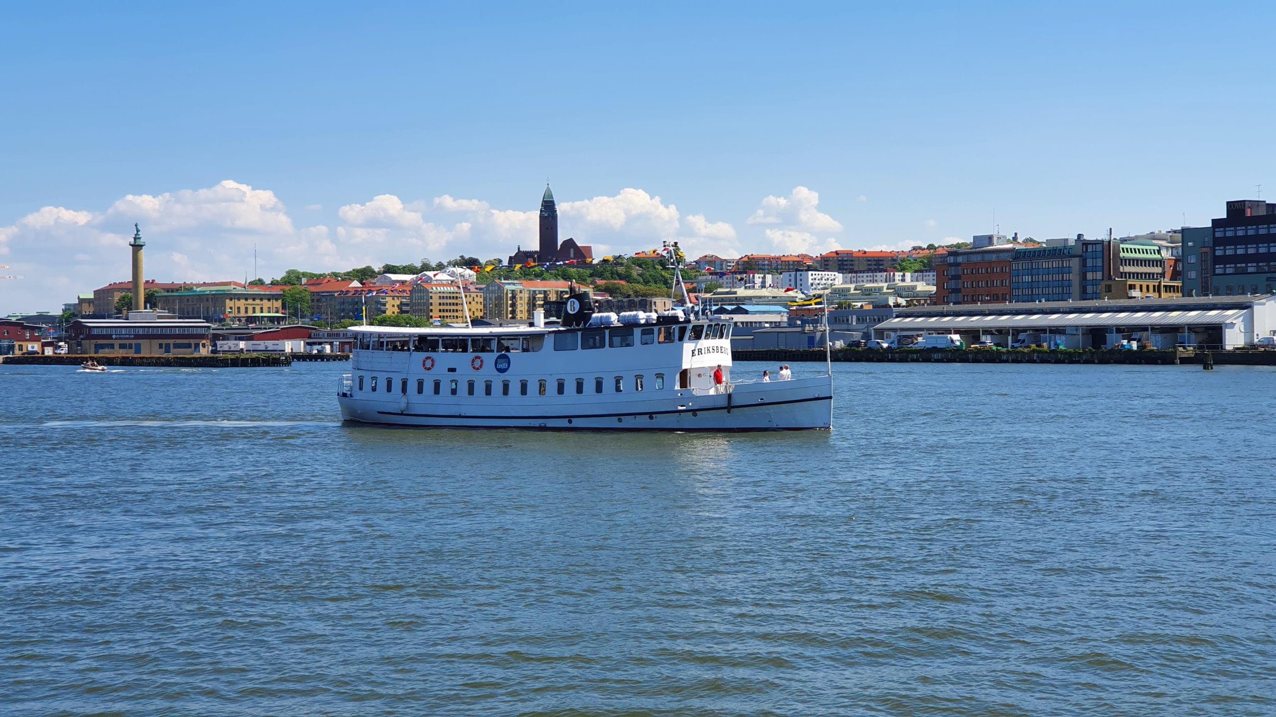 Bohuslinjen, M/S Eriksberg.