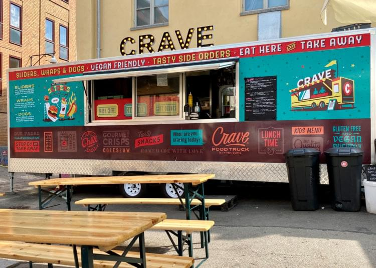 Bild på food trucken