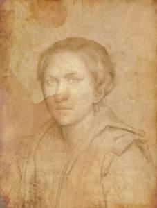Porträtt av Milka Havel