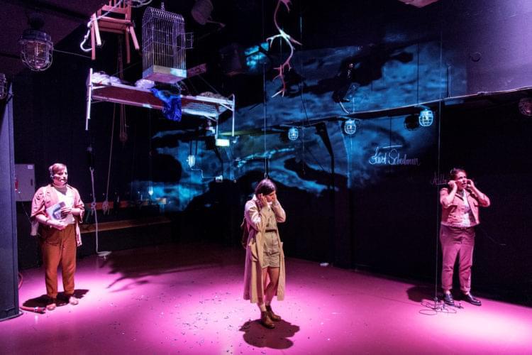 Bild på föreställningen Schaktet