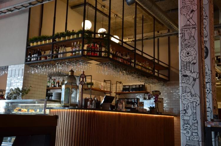 Restaurang Röda Sten, bar