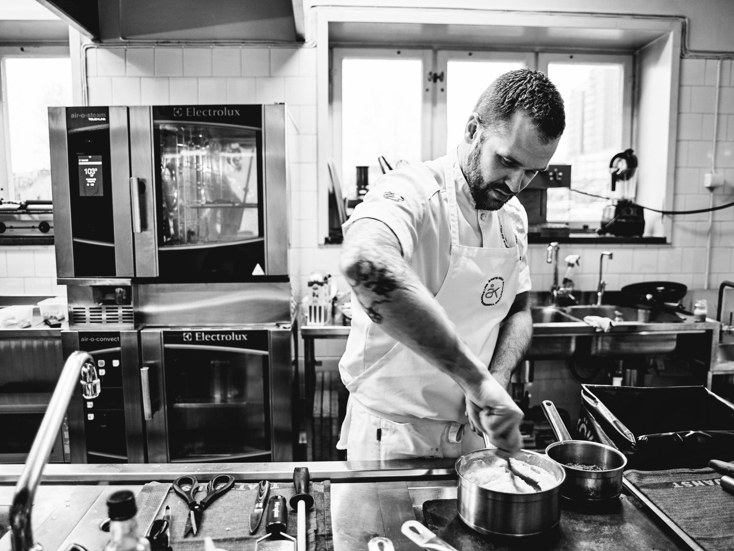 David Lundqvist, chef of the year 2018