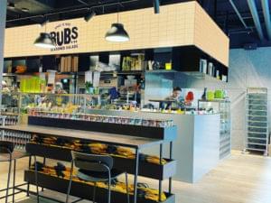 Bild från restaurang Rubs i Arkaden