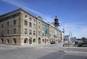 Göteborgs stadsmuseums fasad