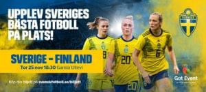 Upplev Sveriges bästa fotboll på plats!